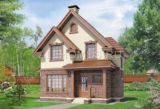 Готовый проект загородного дома G-085-1S