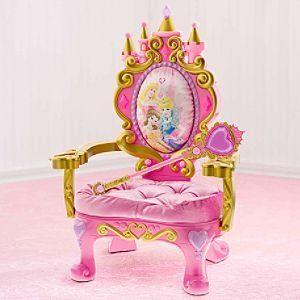Magical Talking Disney Princess Throne - Kids Decorating Ideas