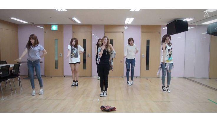 Apink 에이핑크 'Mr.Chu' 안무 연습 영상 (Choreography Practice Video)