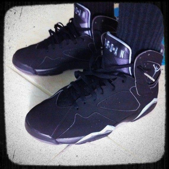 online store ab553 0fccf Air Jordan 7 (VII) Retro Black   Chambray – Light Graphite 304775-042  2 20 06   My Kicks Collection Confessions of a Sneakerhead   90s sneakers, Jordan  7, ...