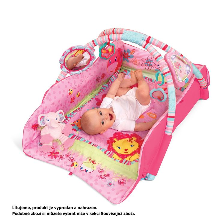 Hrací deka Brihgt Starts Baby's Playplace™Deluxe Edition, 0m+