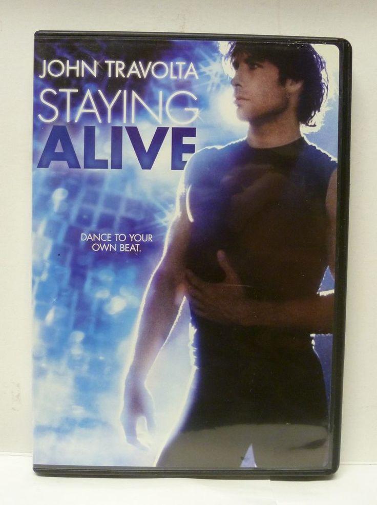 Staying alive dvd oop rare john travolta saturday