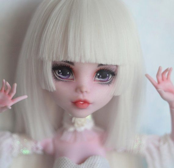 Sold Ooak Monster High Doll Draculaura Custom Monster High