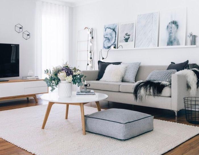 1001 Idees Deco Salon Cocooning De Style Hygge Home Deco