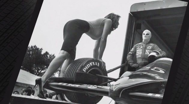 2014 Pirelli Calendar Features Unpublished Helmut Newton Photos from1986   Photo