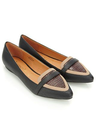 Kourtney Colour Block Point Shoes | Multi | Accessorize