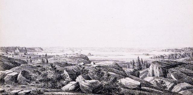Mäki tunnettiin 1600-luvulle asti Tallimäkenä, sillä Turun linnan hevostallit sijaitsivat sen lounaisella rinteellä. Myöhemmin nimeksi vakiintui Linnanmäki tai -vuori. Kallioinen mäki oli metsän peitossa vielä 1700-luvun alkupuolella, jolloin siellä käytiin metsästämässä kettuja ja jopa susia. (1820-luvun kuva ja teksti Kakola - vankilan tarina -kirjasta)