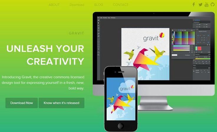 Gravit es una potente y completa plataforma para diseño gráfico con una interfaz intuitiva y versiones para la web, Chrome, Windows, Linux y Mac OS X.
