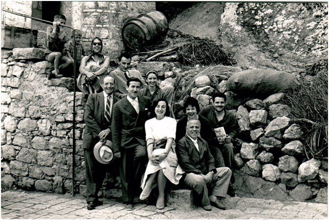 Ernesto de Martino e la sua equipe, 1959- Foto di Franco Pinna