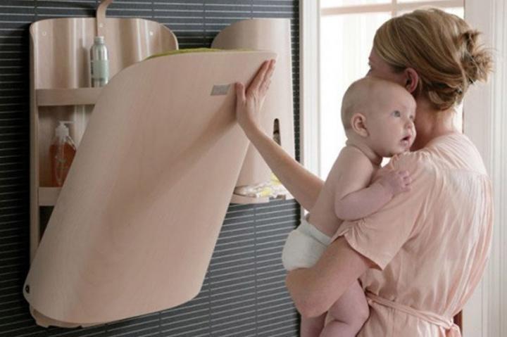 Habitaciones de bebés: cambiadores Bybo