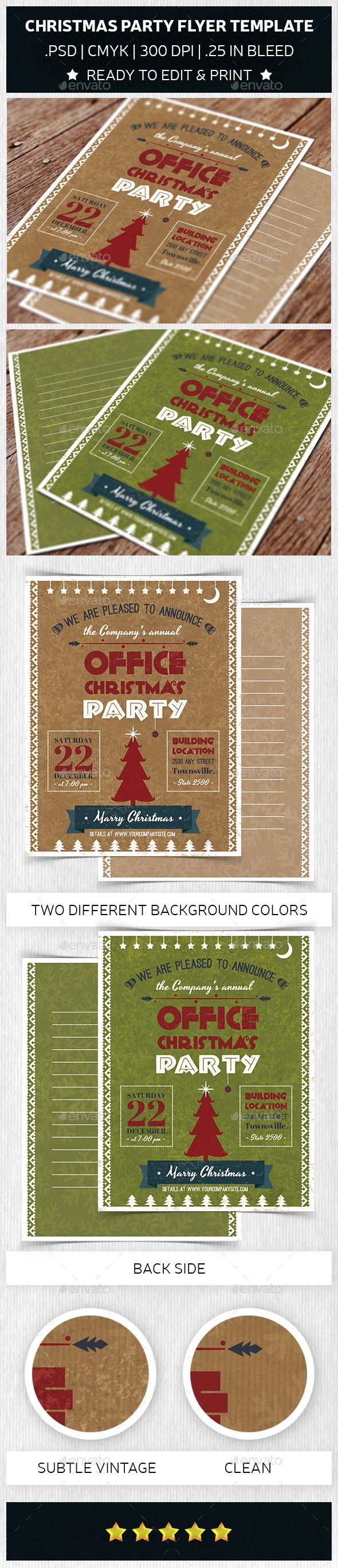 Christmas Party Flyer Template Trend 1756 best