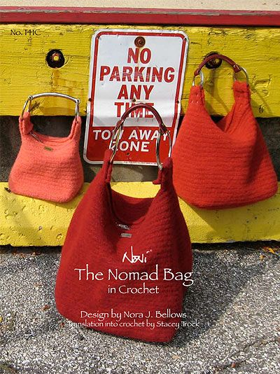Noni Nomad Bag in Crochet Pattern No. 141C