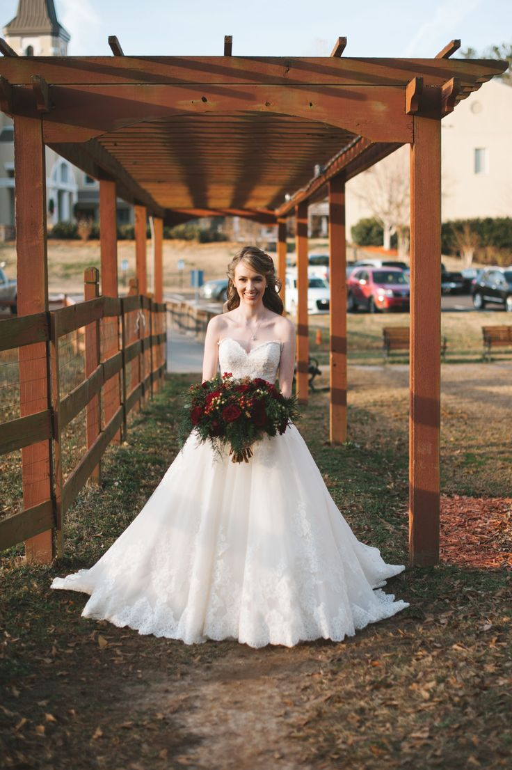 Wedding Dress at Wedding Angels Bridal Boutique Elegant wedding dress | strapless wedding dress | ballgown wedding dress | lace wedding dress | winter wedding | Atlanta bridal boutique #winterweddingdresses #laceweddingdresses #weddingdress