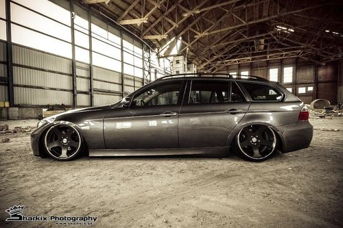 Slammed BMW Wagon