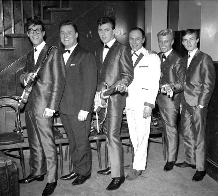 Bruce Welch: Hank Marvin, Don Lang, Bruce Welch, Eric Delaney, Jet