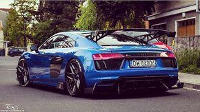 Can a wing get more serious than on this polish Audi R8 at GTI Treffen 2017? - #newR8 #Audi #gtitreffen #reifnitz photo @spotter_x_automotive_ab ---- oooo #audidriven - what else ---- #Audi #R8 #AudiR8 #quattro #4rings #igerspolska #blueR8 #AudiSport #blue #blueAudi #drivenbyvorsprung #audiaustria #audirsperformance #polska #poland #audipolska #audipoland #audiaustria #igersaustria #audiösterreich #velden #woerthersee #woerthersee2017