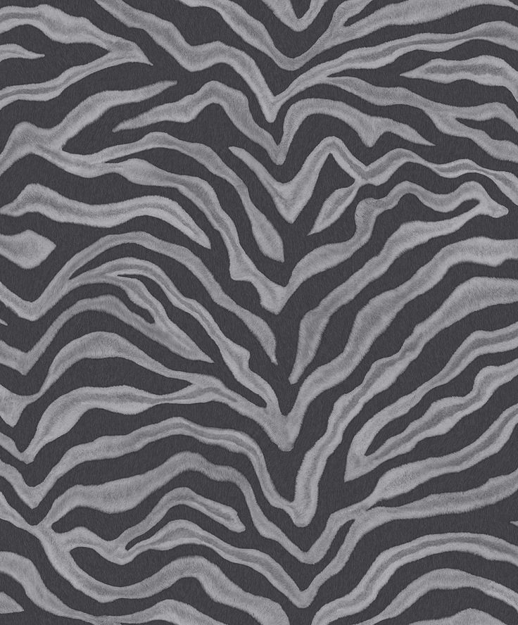Grey zebra print wallpaper! Natural FX Collection by Galerie - G67492