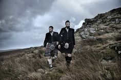 Twin brothers James and Kevin Anderson, 35 | These Photos Show How Young People Live On Scotland's Stark And Beautiful Islands - BuzzFeed News