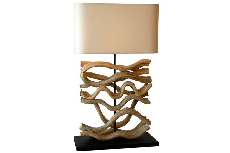 Wave of luck table lamp | D'LOFT