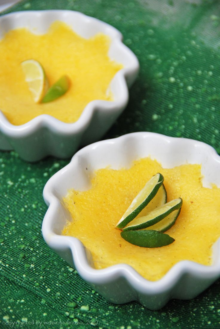Deserve Desserts: lemon pudding