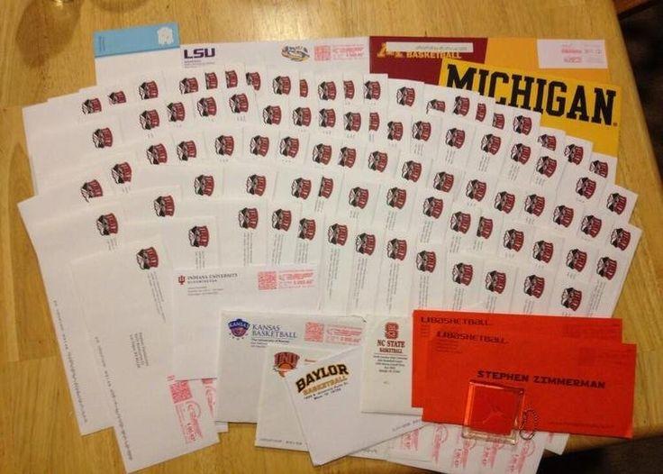 Stephen Zimmerman's 86 letters from UNLV (photo via @BIGG_Zimm)