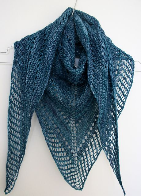 Free Easy Knitted Shawl Patterns : 1000+ images about Knitting Freebies on Pinterest Pattern library, Ravelry ...