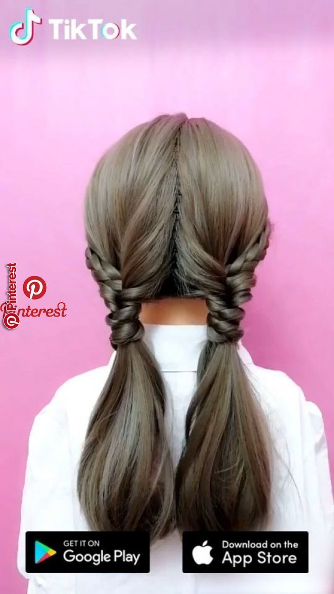 Super Easy To Try A New Hairstyle Hair Videos Long Hair Styles