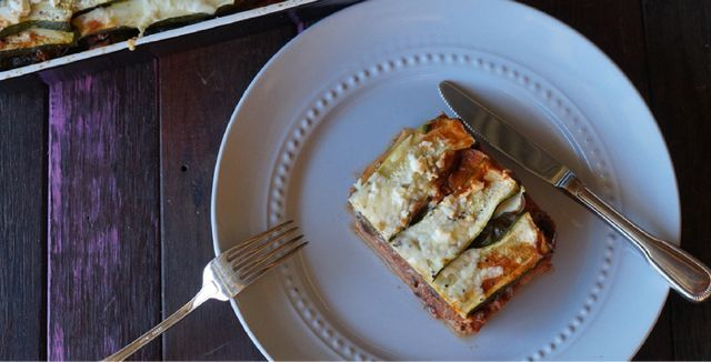 Paleo Lasagne from Eat Drink Paleo the cookbook.