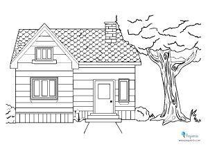 Dibujos Colorear Gratis Dibujo De Casa Paginas Para Colorear Para Ninos Dibujos Simples