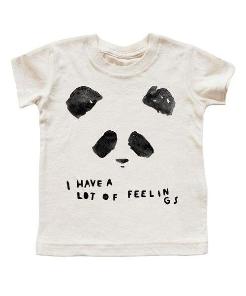 'FEELINGS PANDA' T-SHIRT