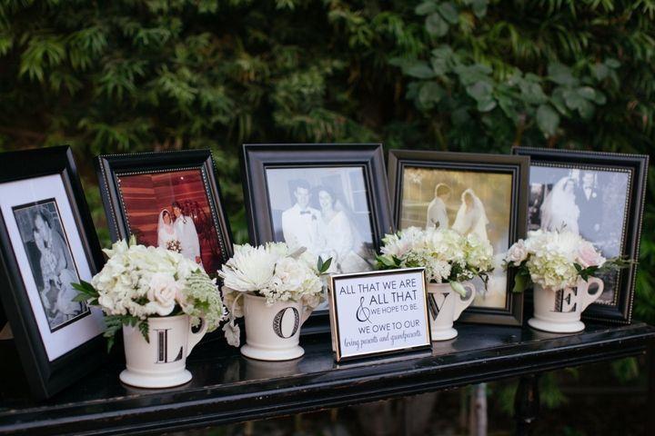 A+Romantic,+Timeless+Champagne+and+Blush+Wedding+via+TheELD.com