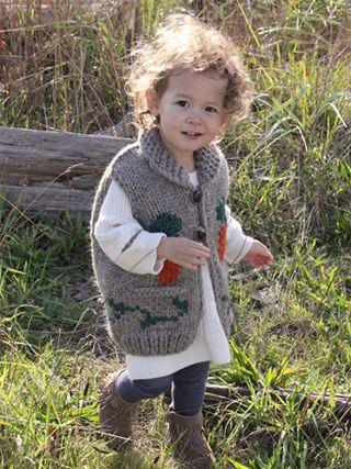 Kids Rabbit vest.