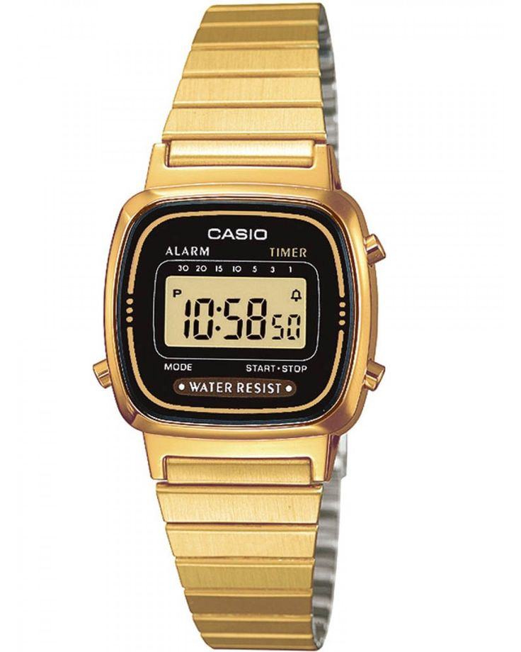 Casio Ladies Digital Display Watch LA670WEGA-1EF