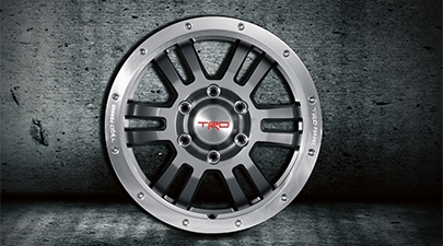 Toyota 4Runner Accessories--TRD 17-in Forged Off-Road Alloy Wheels