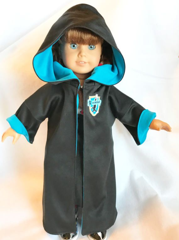 Ravenclaw Robe for 18 Doll by FlavorsofmyRainbow on Etsy