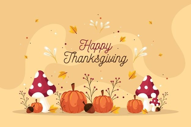 Download Flat Design Thanksgiving Background For Free In 2020 Thanksgiving Background Thanksgiving Wallpaper Vector Free