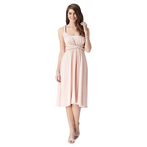 Wow amazing idea Debut Rose multiway jersey midi dress- at Debenhams Mobile