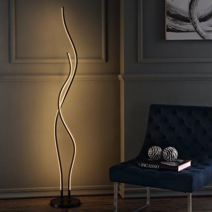 Tyrol 64 Led Novelty Floor Lamp Led Floor Lamp Floor Lamp