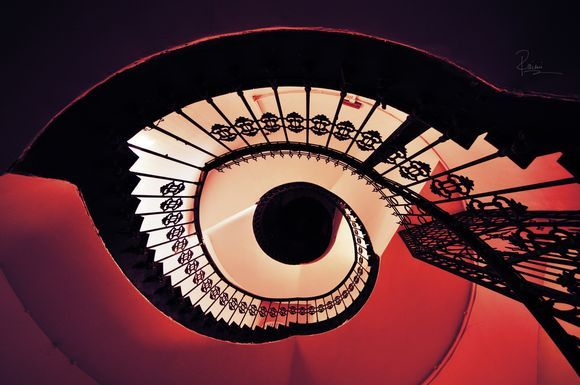 "Spiral Stairs (""eye"")"