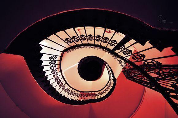 "Spiral Stairs (""eye"")"