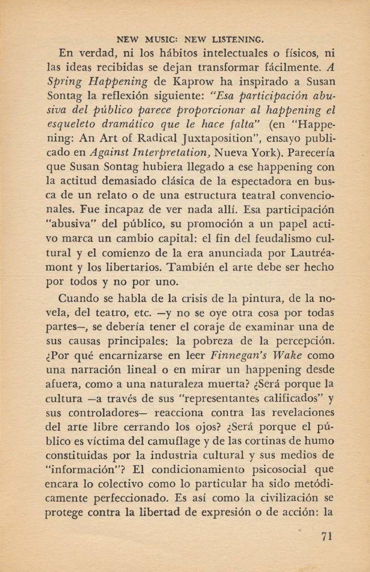 Jean Jacques Lebel - El Happening