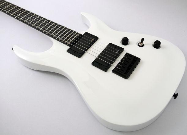 White Electric Guitar | The White Affair | Pinterest ...