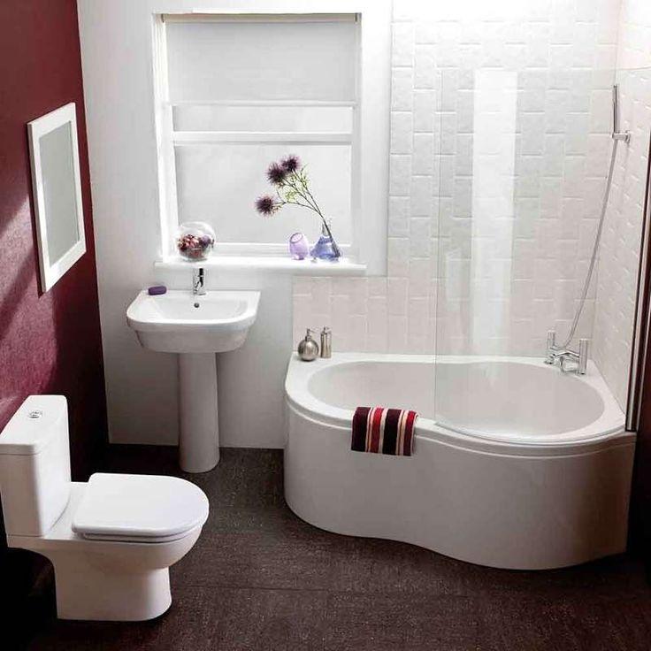 baño decorado  azulejos para baños pequeños