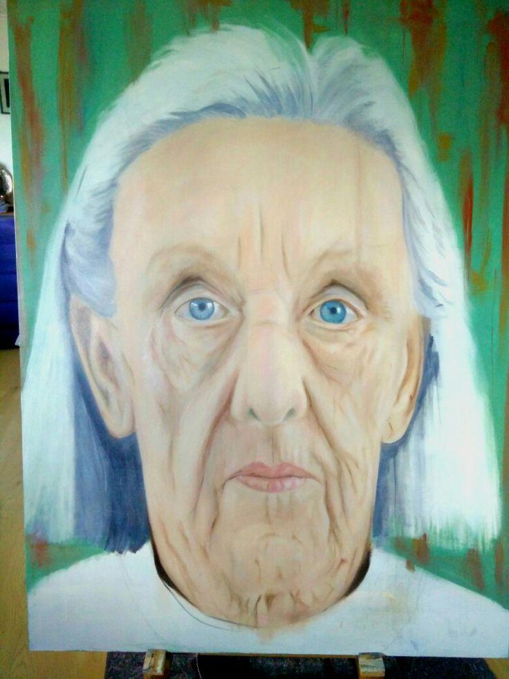 Art in progres oil on canvas     120 x180 cm
