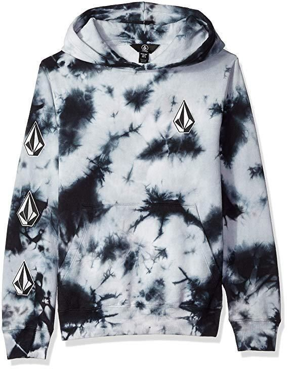 3c2bdccbb eBay #Sponsored NEW Volcom Big Boys' Deadly Stones Pullover Hooded Fleece  Storm Extra Large