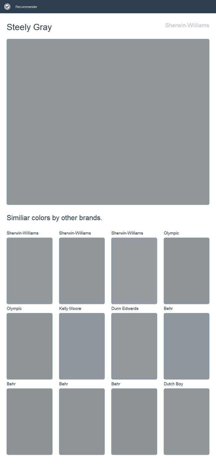 Best 25 Sherwin Williams Steely Gray Ideas On Pinterest