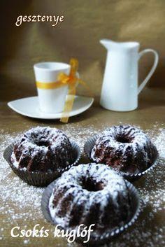 Gesztenye receptjei: Csokis kuglóf - Harrer módra