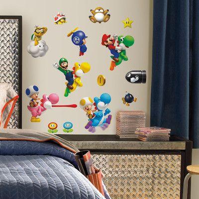 Wallhogs Super Mario Wii Cutout Wall Decal | Wayfair