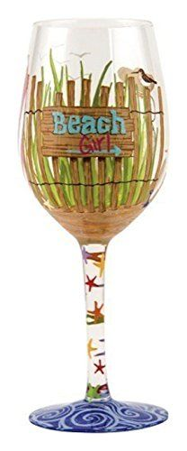 Santa Barbara Design Studio Beach Girl Lolita Wine Glass, Multicolor Santa Barbara Design Studio http://smile.amazon.com/dp/B00HZOTXLQ/ref=cm_sw_r_pi_dp_LQvqvb11NEEWF