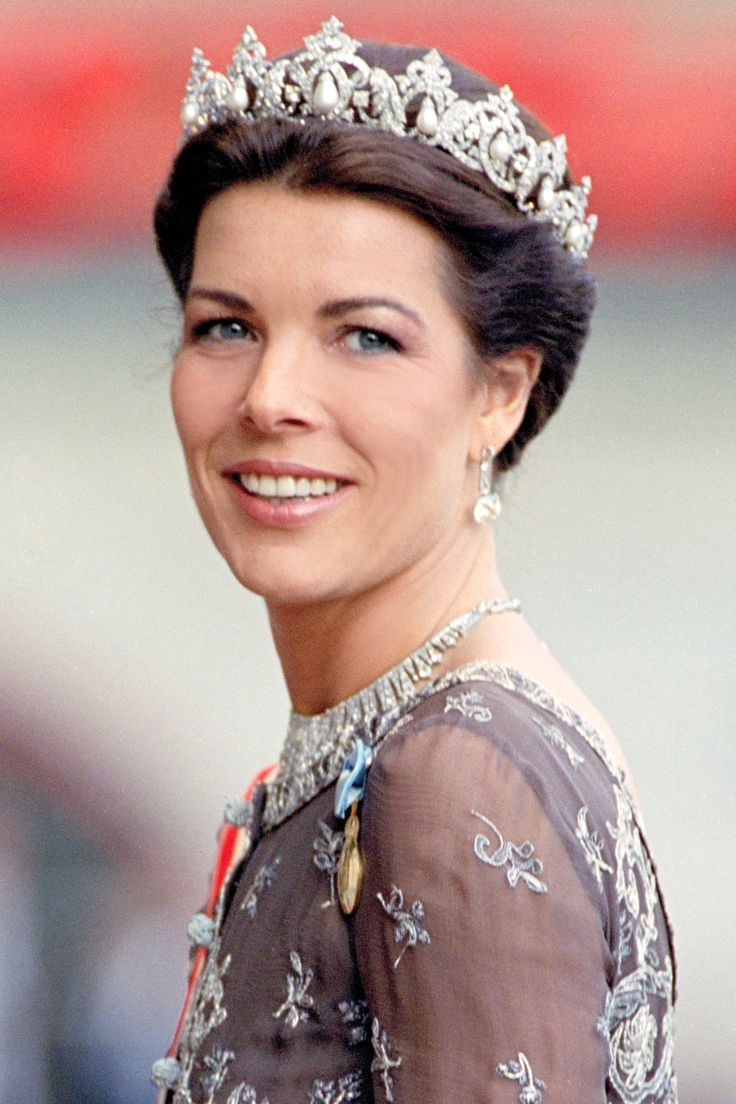 Princess Caroline of Hanover (daughter of Princess Grace of Monaco) #TheLIST: Royal Beauty Icons  - HarpersBAZAAR.com